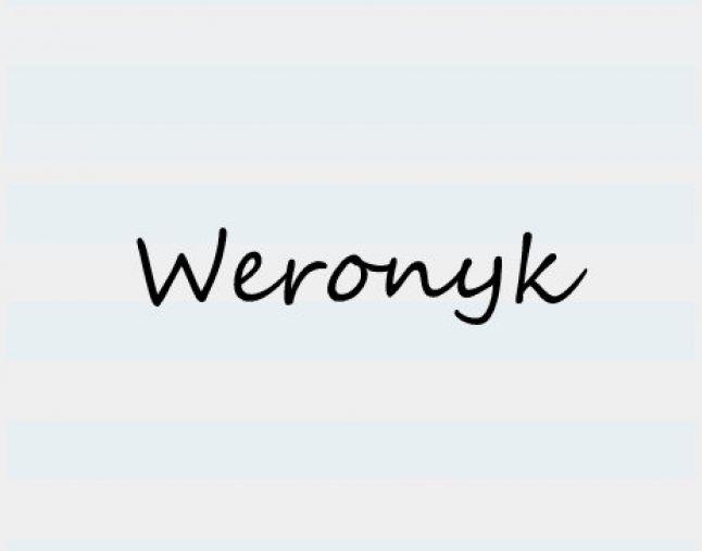 weronyk
