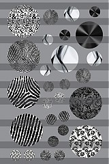 Materiál ručne robený - Motív na živicu - 3739462_