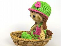 Návody a literatúra - Háčkovaná bábika Maria- návod - 3740516_