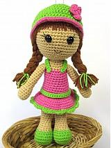 Návody a literatúra - Háčkovaná bábika Maria- návod - 3740519_