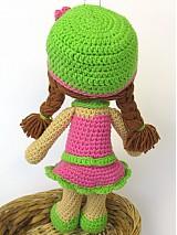Návody a literatúra - Háčkovaná bábika Maria- návod - 3740520_