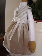 Bábiky - Zajačia slečna v sivej sukničke - 3741623_