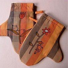 Úžitkový textil - NA KYTCE - chňapky - 3741533_