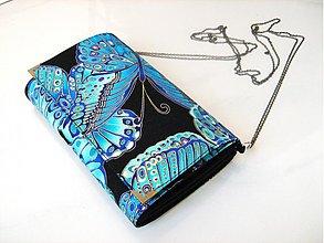 Kabelky - Noční motýl - kabelka na ples, do tanečních, ... - 3748648_