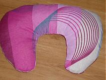 Úžitkový textil - Špaldový vankúš okolo krku - 3750802_