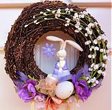 - Břízový velikonoční se zajícem - 3753387_