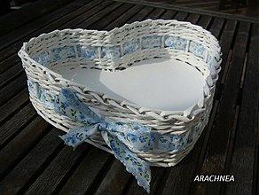 Dekorácie - Láska nebeská (modrá kvetinková) - 3750038_