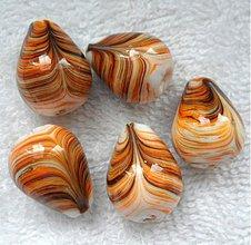 Korálky - Porcelán 15x20mm-1ks - 3751960_