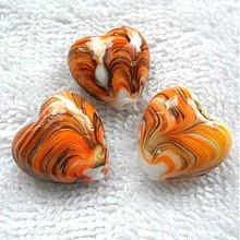 Korálky - Porcelán-srdce 20mm-1ks - 3753419_