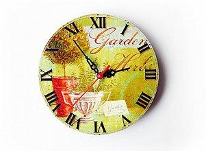 Hodiny - Nástenné hodiny - 3753412_