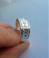 Prstene - Prsteň s kvietkami - 3751784_