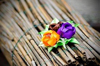 Ozdoby do vlasov - Tulipány vo vlasoch - 3753111_