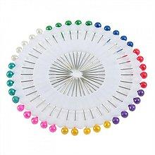 Galantéria - Špendlíčky s farebnými hlavičkami - 3749508_