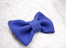 Detské doplnky - Detský motýlik - kráľovská modrá - 3756714_