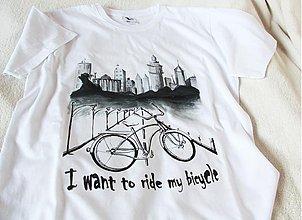 """Oblečenie - """"ride my bicycle"""" pre chalanov - 3756624_"""