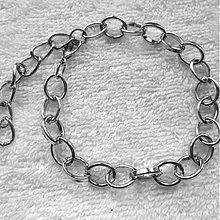 Komponenty - Retiazka-náramok 18cm-1ks - 3757661_
