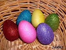 Dekorácie - veslé veľkonočné vajíčka - 3755834_