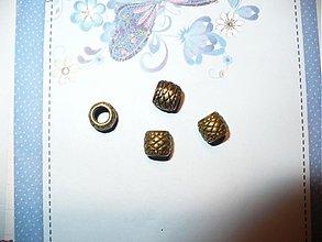 Korálky - kovová korálka, pandorka - 3757165_