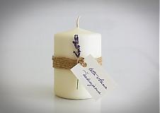 Darčeky pre svadobčanov - svadobná pozornosť-levanduľová - 3755271_