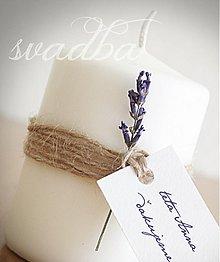Darčeky pre svadobčanov - svadobná pozornosť-levanduľová - 3755270_