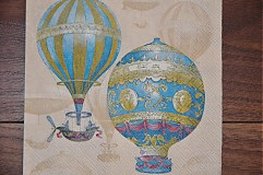 Papier - Servítka Balóny - 3759422_