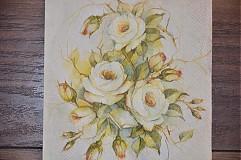 Papier - Servítka Ruže - 3759441_