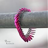 Šupináč Růžovka bláznivá - náramok