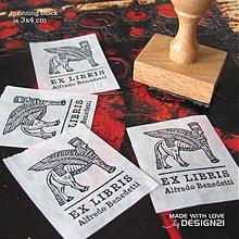 Drobnosti - Pečiatka: sfinga, EX LIBRIS - 3760350_