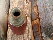 Dekorácie - váza zo stromovej hory - 3759225_