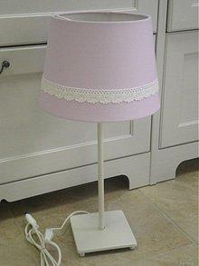 Úžitkový textil - Lampy a podsedák na objednávku pre pani Milenu - 3759822_