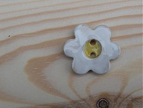 Materiál ručne robený - Keramický gombík 3cm - 3763774_