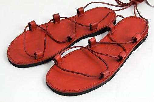 a9dc5fb6435b Kožené sandále Red   LIBREatelier - SAShE.sk - Handmade Obuv