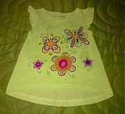 Detské oblečenie - kvietkované šatočky - 3770320_