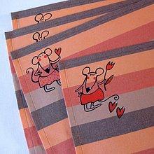 Úžitkový textil - KOCOUR NENÍ DOMA :o) - prostírání - 3767297_