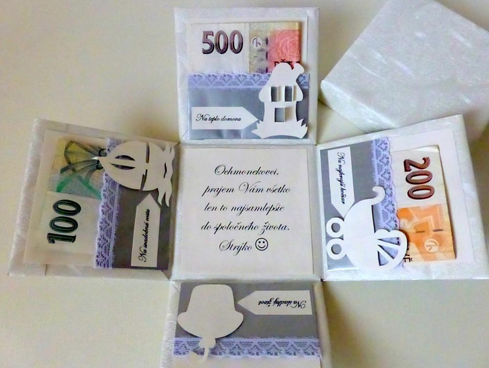 7 tipov, ako vtipne darova peniaze Ako a Preo?