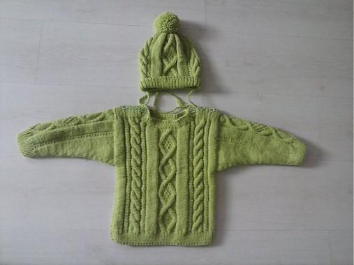 81baf6ceb22 Detsky pulover s čiapkou   terai - SAShE.sk - Handmade Detské oblečenie