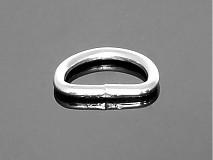 Galantéria - polokrúžok 16 mm nikel - 3773852_