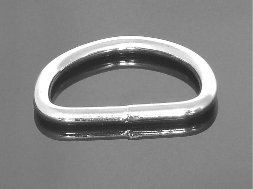 polokrúžok 40 mm nikel