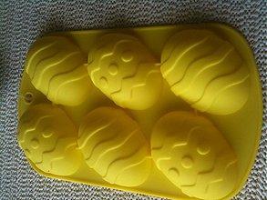 Pomôcky/Nástroje - Silikonová forma vejce/ žltá/ 1kus - 3775117_