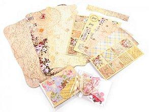Papier - Scrapbooking sada album a doplnky mini 2 - 3778095_