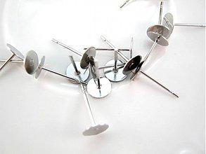 Komponenty - Puzeta s plôškou 6 mm - nerezová oceľ 304 - 3778484_