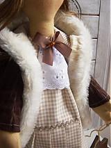 Bábiky - Inka v kožúšku - 3775846_