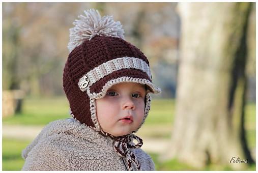 713f3041a čokoládový chocholúšik / motulka - SAShE.sk - Handmade Detské čiapky