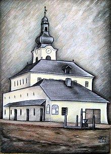 Kresby - Novobanské námestie 1920 - 3775601_
