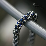 Náramky - Modrý macík - náramok - 3779817_