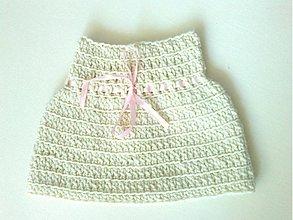 Detské oblečenie - Detské pončo... Little Romantic - 3780678_