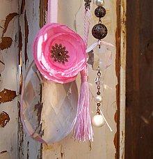 Dekorácie - Shabby trio v ružovom - 3780271_