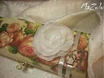 kvet na svadobnú pokladničku