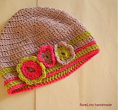Detské čiapky - detská jarná čiapka - 3783663_