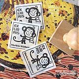 - Opička: pečiatka 4x4 cm - 3785191_